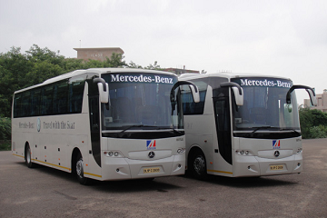 Volvo Coach Bus - Outstation Bus in Bangalore - ProRido